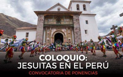 """Convocatoria al Coloquio """"Jesuitas en el Perú"""""""