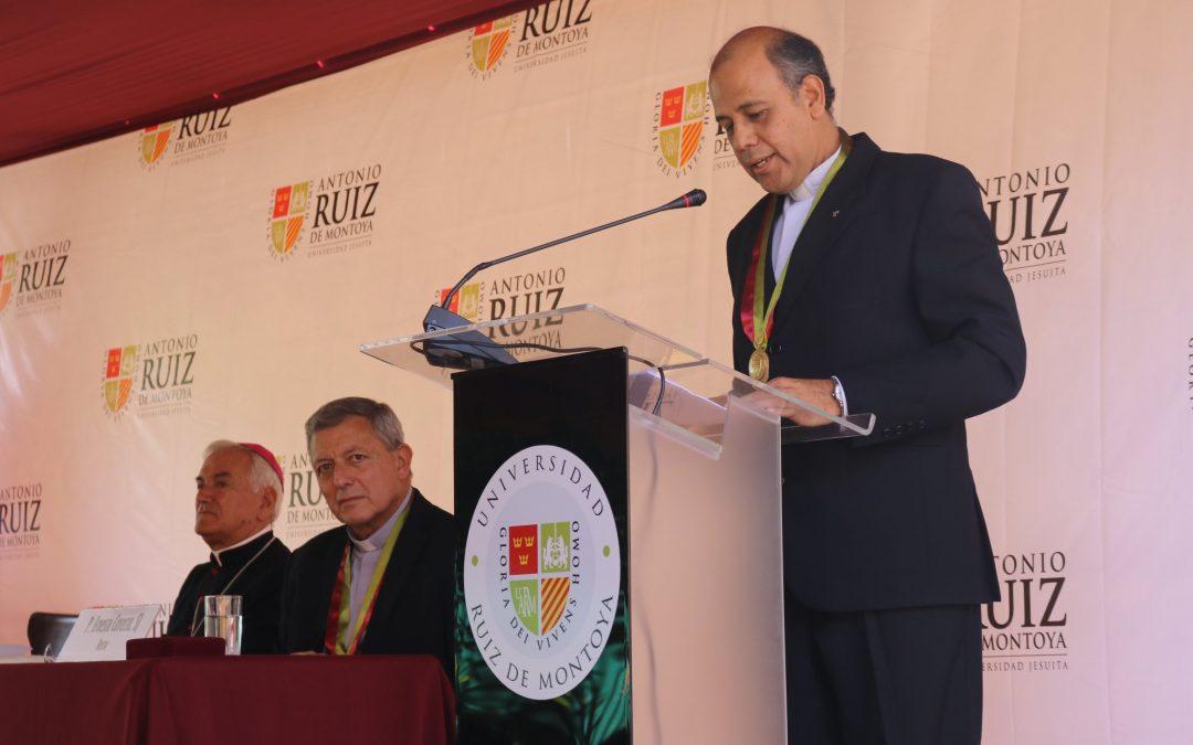 Discurso del P. Provincial: 450 años de servicio jesuita a la Iglesia en el Perú