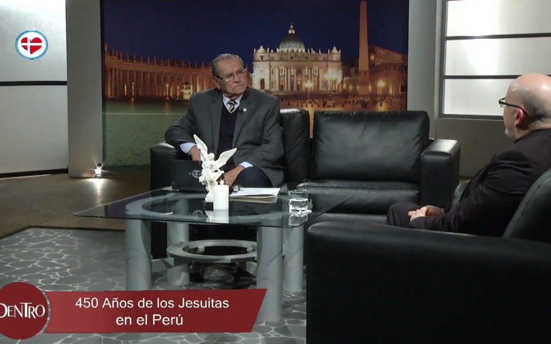 Entrevista en Pax TV: 450 años de los jesuitas en el Perú