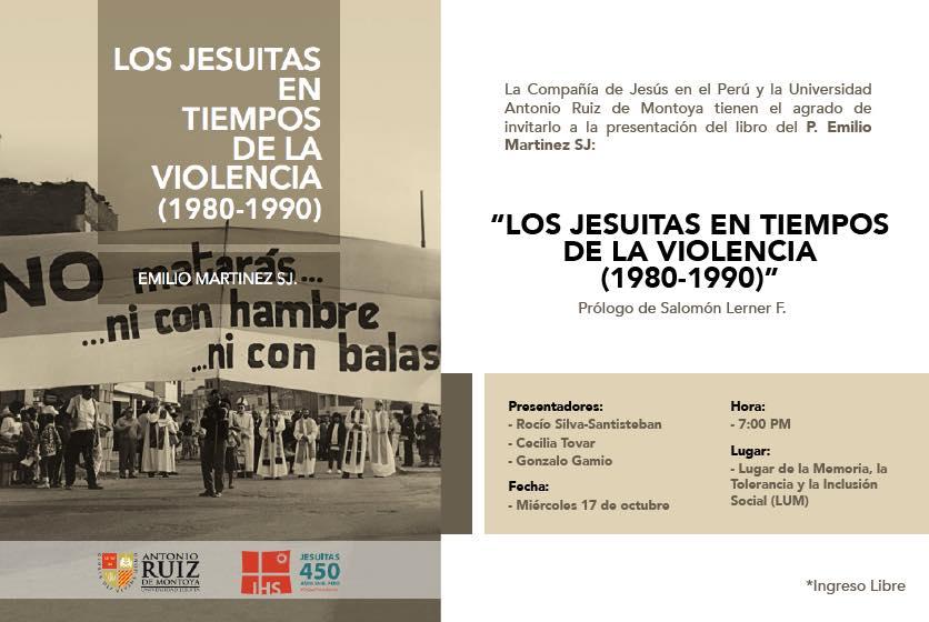 """Presentación del libro """"Los jesuitas en tiempos de la violencia"""""""
