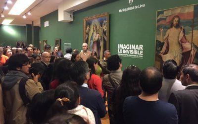 """Culminó la muestra sobre arte jesuita """"Imaginar lo invisible"""""""