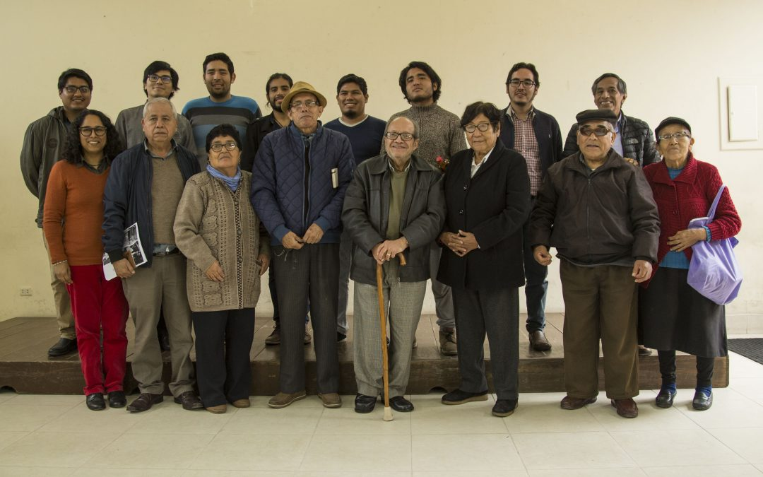 Taller participativo de Memoria comunitaria con dirigentes de SEA y estudiantes de la PUCP