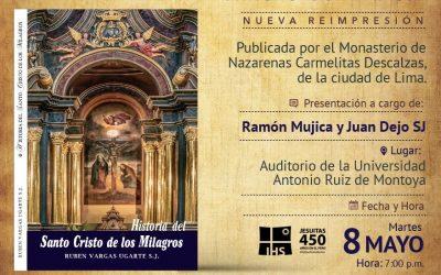 Presentación de nueva edición de Libro del P. Vargas Ugarte SJ
