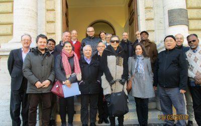 Del 12 al 15 de febrero se realizó el encuentro de Archivistas en la Curia General, Roma