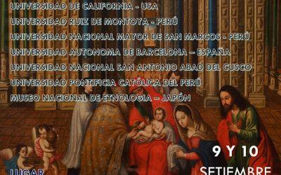 I Seminario internacional sobre Patrimonio e Historia del Arte virreinal en el Cusco